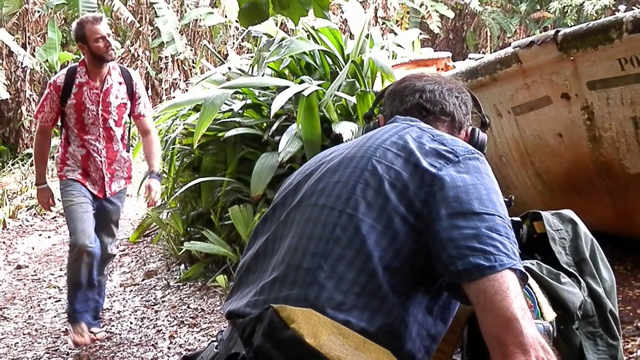 Pitcairn Island, Big Flower - Filming the documentary