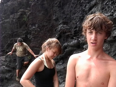 Pitcairn Island, Big Flower - The Trio Regroup