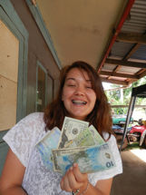 Pitcairn Island, Big Flower - Money made
