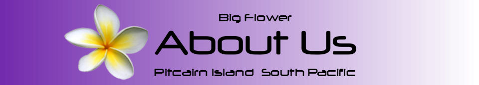 Pitcairn Island, Big Flower - About Us