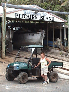 Pitcairn Island, Big Flower - Transport